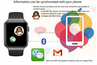Andriod Smart Watch K8 Android 4.4 2M pixels Webcam Wifi FM for Android Smart phones Support SIM