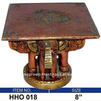 Decorative Wood Carving Table