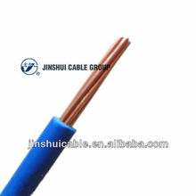 Single Core Copper Stranded PVC Coated Electric Wire 1.5mm 2.5mm