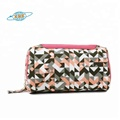 China supplier travel gift set make up case canvas zipper pouch