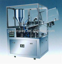 2016 Automatic Aluminum Tube Filling and Sealing Machine for Shoe Polish