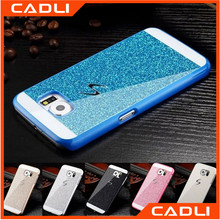 Fashion phone case luxury shinning Bling PC mobile phone cover for Samsung Galaxy s7 edge s5