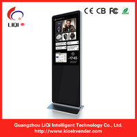 Advertising Touch Screen Kiosk/Advertising Display with internet.