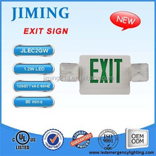 JIMIING -UL&cUL Listed ceiling mounted emergency exit sign JEC2GW 1703161221