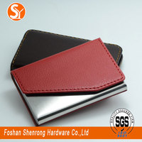wholesale passport cover women mata business card holder with mirror case,corporate gifts - business card holder