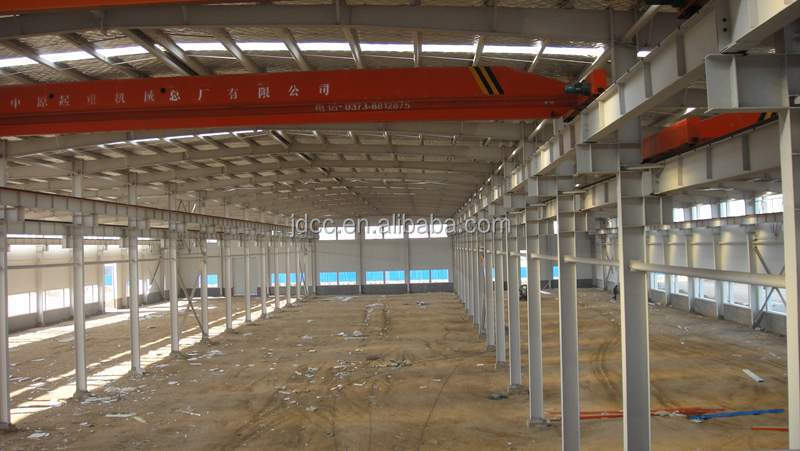 Good Quality and Low Cost Prefabricated Steel Structure Warehouse