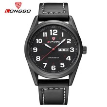 LongBo wholesale best selling watch model 1 year warrante leather sport watch