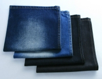 10 oz T/C Bull Denim Shiny Blue Twill Cotton Poly Denim Fabric 58/60Wide 150cm