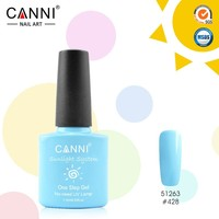 51263x CANNI Nail Art Design Wholesale 29 Colors Sunlight One Step UV Gel Nail Polish No-need UV Lamp Organic UV Gel Polish