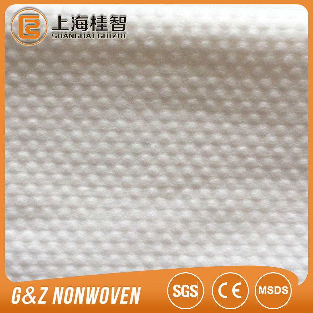 Dots Embossed non woven spunlace, Wet wipes raw materials