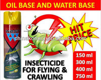 Knock down mosquito repellent spray insect spray