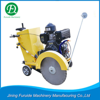 Concrete road cutting machine high performance diesel road surface cutter ( FQG-500C)