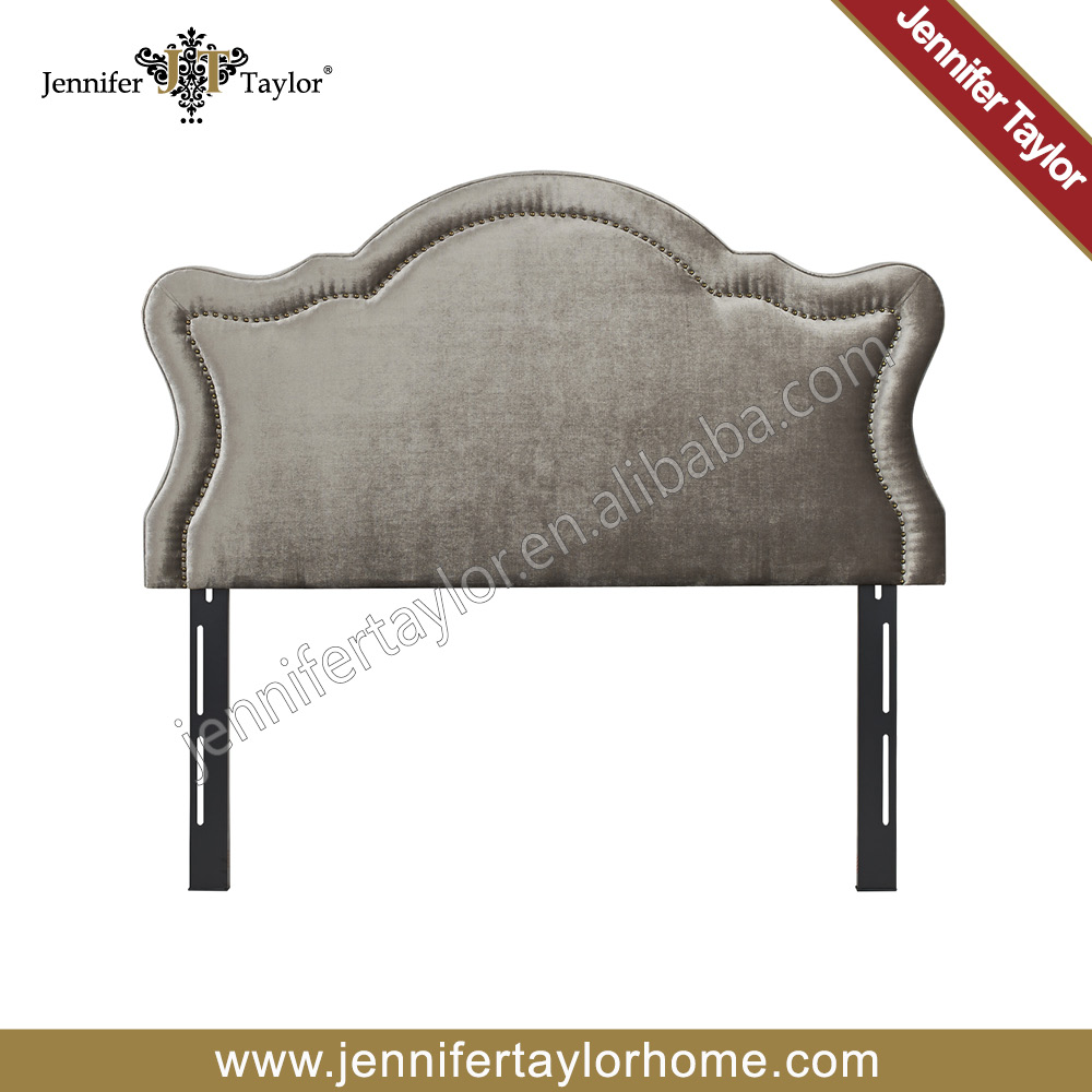 Cheap Bed Fabric Upholstered Queen Headboard