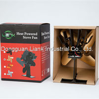 China Supplier 2015 New Product heat powered stove fan for Wood Burning Stove