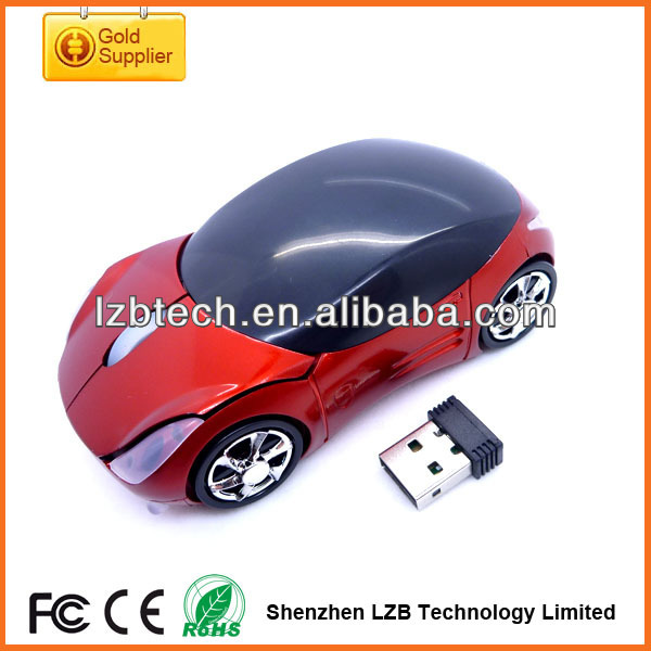 wireless car mouse car cordless mouse, mini wireless mouse