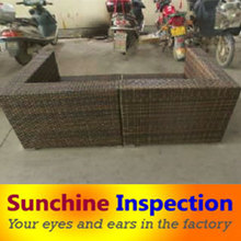 Supply social audit in coffee table set & tea table quality control agent & Leisure Rattan Chairstables quality inspection & QC