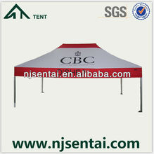 3x4.5M plastic canvas hexagon/giant canopy outdoor tents/fabric sublimation
