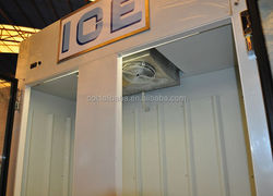 Solar Power Bagged Ice Bin /Cold Ice Storage Bin/Outdoor Bagged Ice Storage Bin