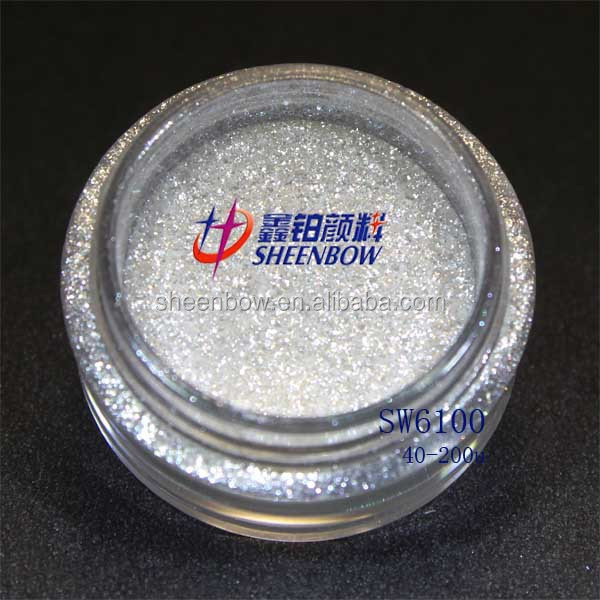 Sheenbow Crystal Effect Synthetic Mica Pearls Pigment for Coating