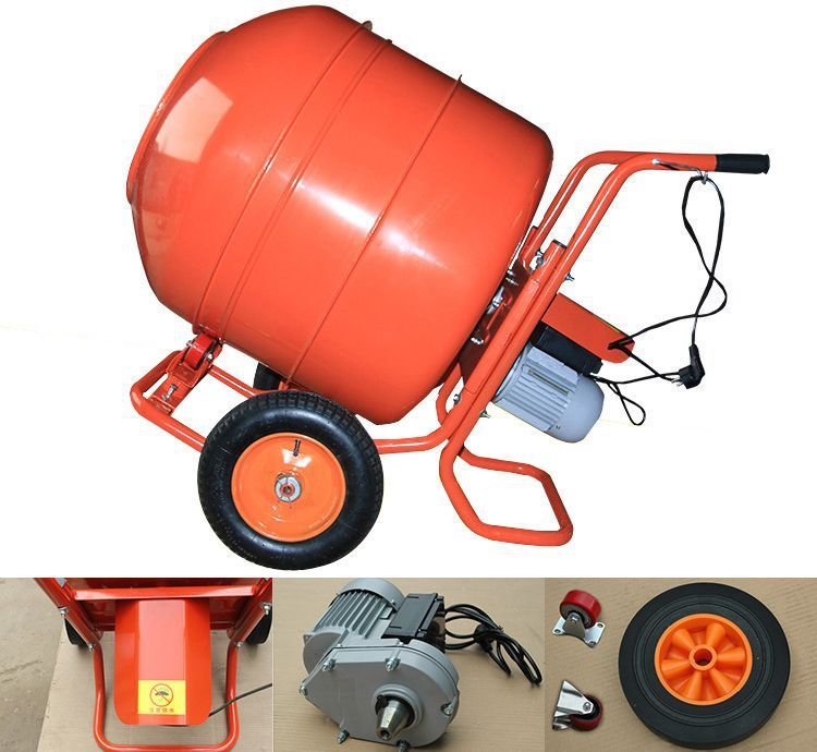 small electric portable cement mixer,concrete mixer machine