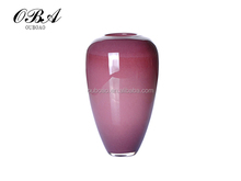 Selling a new popular elegant colored art vase for decoration