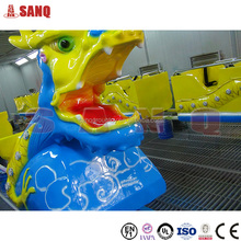 Kids Game sliding dragon coaster Small Mini Roller Coaster for Sale