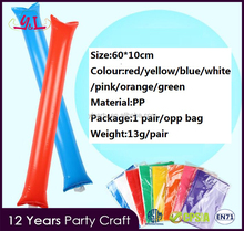 Promotional Gifts Cheering Inflatable Stick For Game