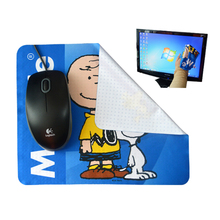 custom gaming silicon dots anti slip mouse pad
