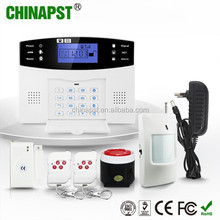 New design ! Wireless GSM home security System/wireless home alarm kit/sim card gsm burglar alarm PST-GA997CQN