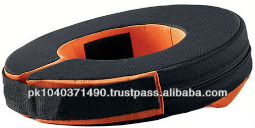 Custom soft PU rubber Neck Collar indoor Kart Racing