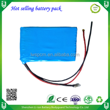 hot selling customized capacity Li-ion 25.9V 6000mAh battery pack for hoverboard