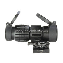 Tactical 3x Magnifier Scope Fits 552 Red & Green dot sight 30mm tube PY-MG01