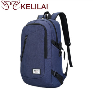 Travel Backpack Business Laptop Book School Bag With Usb Charging Port For College Student