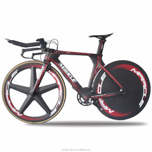 Hot selling full carbon complete time trial bike/TT bike frame Miracle time trial carbon bike frame/triathlon bike