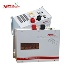 High Efficiency low frequency 48v 6000w off grid Solar wind inverter with PWM charge controller