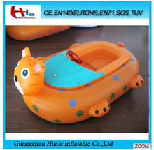 Best quality cat inflatable battery motor boat , inflatable bumper boat for sale