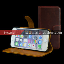 Folio Magnetic Flip Case for Leather Iphone 6s Plus Wallet Case