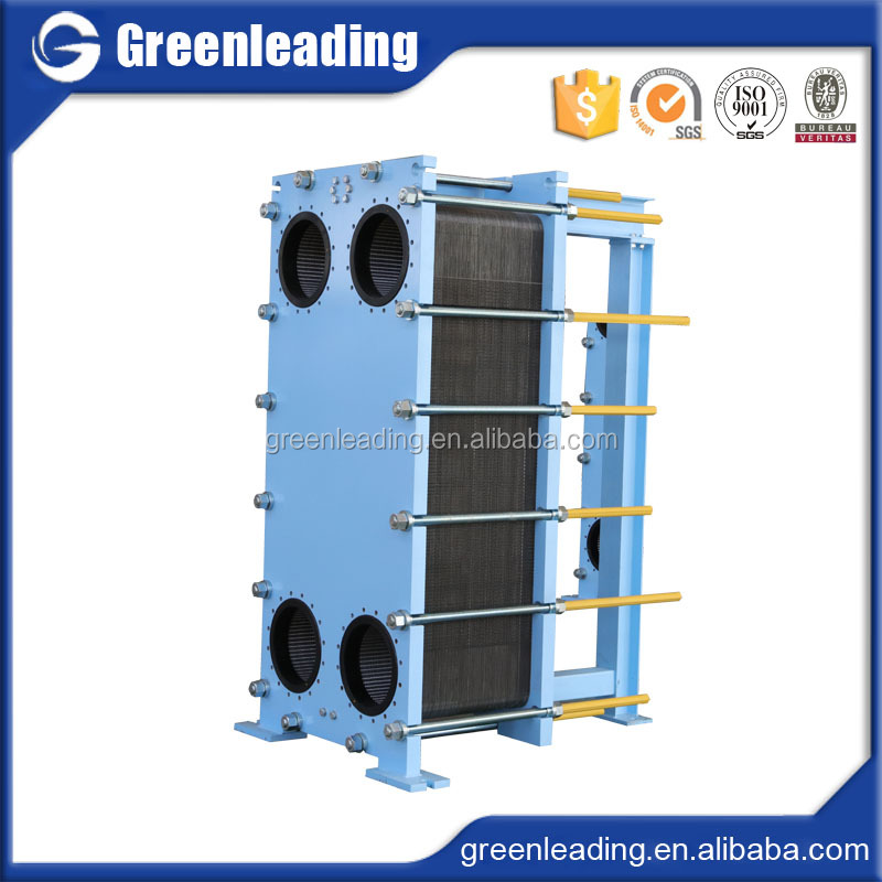 Industrial Plate heat exchanger stainless steel coiled tube