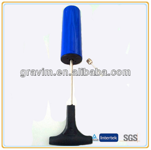 Blue color small hand tire pump