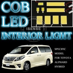 3000K Warm White LED Interior Dome Lamp for Toyota Alphard Used Car