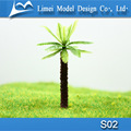 Architectural model Plastic palm trees / model Plastic green tree for model making train layout S02