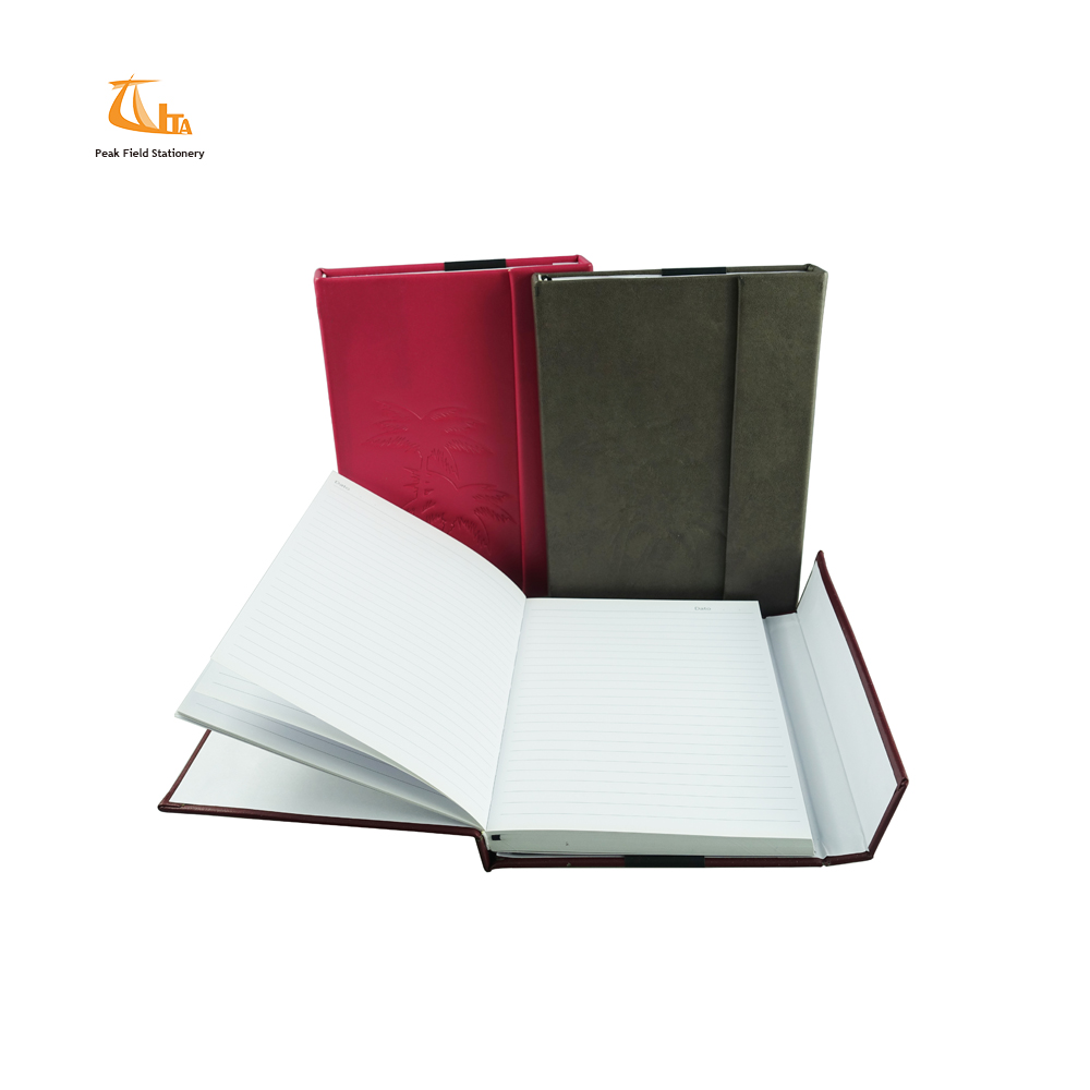 New products 2018 a4 a5 pu faux leather journal gift set
