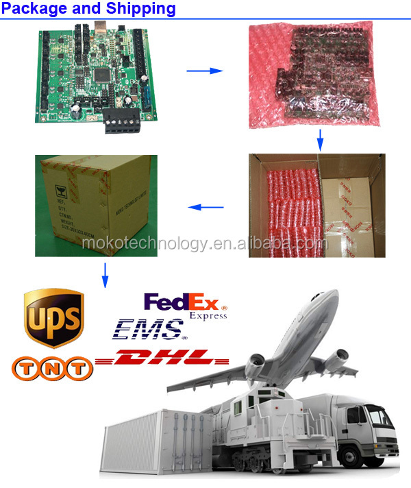 ROHS HASL lead free printed circuit board PCB Board and PCB assembly supplier