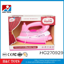 Kids play house electric pretend iron machine toys with music and light HC270929