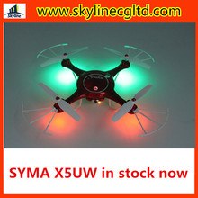 In stock Syma X5UW New Version Syma X5UW-1 4CH 2.4GHz 6 Axis RC Quadcopter with HD Camera 360 Degree Eversion hot sale