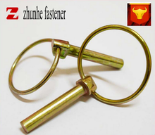 spring pin color zinc release cotter pin bolt linch pin