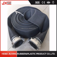 1.5 inch 40mm fire hydrant hose fire fighting hose fire hose with PVC PU rubber lining