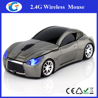Good-looking Mini USB Wireless Car Optical Mouse for Laptop PC