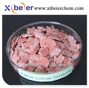 Sodium Sulphide Red/Yellow Flakes 60%