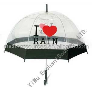 Hot selling auto transparent pvc kids dome umbrella